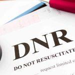 DNR - do not resuscitate