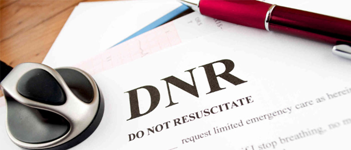DNR  (Do Not Resusitate) Directive